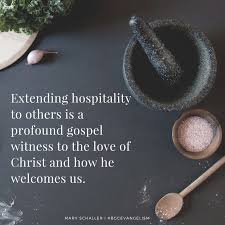 Image result for christian hospitality