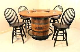 whisky barrel table whiskey for end diy pub ta whiskey barrel table
