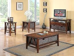 sofa table with storage baskets. End Tables With Storage Baskets Lovely Riverside Furniture Rectangular Table . Sofa
