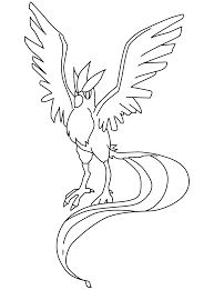 Pokemon Coloring Pages Talonflame Smogon