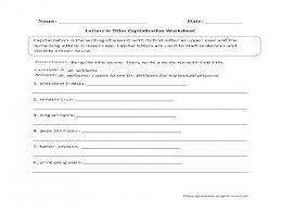 Capitalization-worksheet &