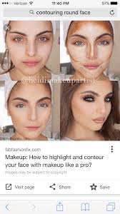 step by step perfectly contoured and highlighted face contour is soo clever