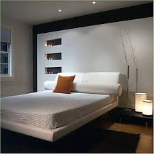 bedroom, Marvelous Armature On Small Black Table Beside Cozy Bed Fit To Basement  Bedroom Ideas