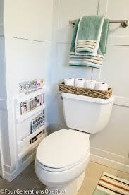 Diy Magazine Holder For Bathroom