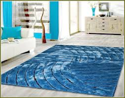 soft modern blue area rug