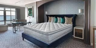 Queen Serta Perfect Sleeper Hotel Sapphire Suite II Euro Top Double