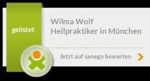 Wilma Wolf in 81476 München, Heilpraktikerin (sonstige) - sanego