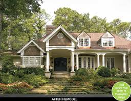 Home Exteriors Before And After Style Simple Decoration