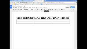 Drive Newspaper Template Googledocs Newspaper Formatting