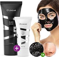 black charcoal mask blackhead remover face l off mask with natural activated organic bamboo charcoal