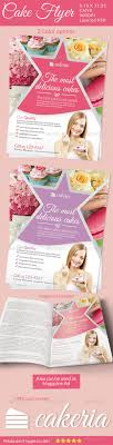 bakery cupcake shop flyer word template publisher template cake flyer magazine ad