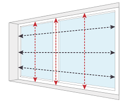 How to measure blinds Shades Measuring For Recess Blinds Blinds Online How To Measure Instructions Videos Pdfs Blinds Online