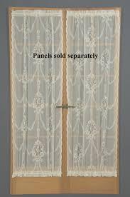 american balmore lace door panel zoom
