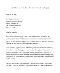 Free Business Letter Samples Business Letter 13 Free Word Pdf Documents Download
