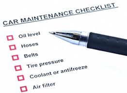 Image result for summer car maintenance checklist