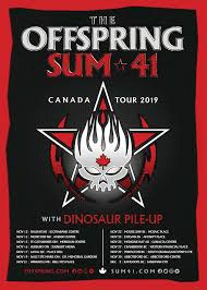 Abbotsford Centre Seating Chart The Offspring And Sum 41 Plan 2019 Tour Dates Ticket