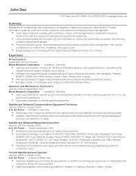 Telecom Resume Examples Professional Telecommunications it Professional Templates to 26