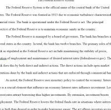 reserve system essay federal reserve system essay