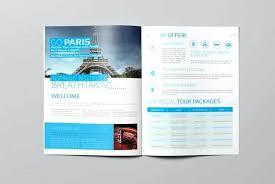 Brochure Of Travel Agency Travel Agency Promotion Catalog Design