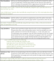 Research Paper Samples How To Cite In Apa Text Citation Examples