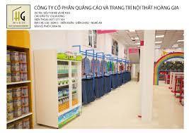 Thiết kế siêu thị mẹ và bé kids Chị Hương Nghệ An diện tích 145m2