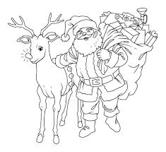 Santa Coloring Pages Holiday Coloring Pages Santa Coloring Pages