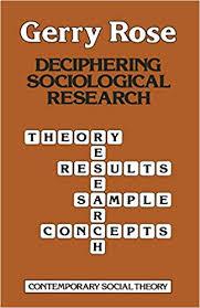 Sociological Research Deciphering Sociological Research Contemporary Social