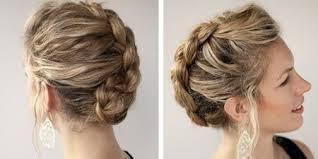 Slávnostný štýl Pre Stredné Vlasy Krásne účesy Pre Stredné Vlasy Na