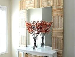 Diy mirror frame ideas Decorative Diy Mirror The Frame Of This Huge Mirror Is Comprised Of Wooden Rulers Nifty Huh This Diy Mirror Diy Mirror Frame K3cubedco Diy Mirror Mirror Frame Wood Diy Mirror Frame Ideas Pinterest