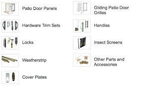 sliding patio door parts series gliding patio door andersen patio sliding door replacement parts