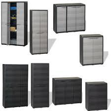 garden storage cabinet with shelf