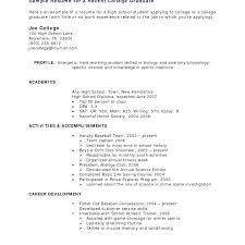 Free Online Resume Builder Printable New Resume Builder For Students Resume Builder College Student Student