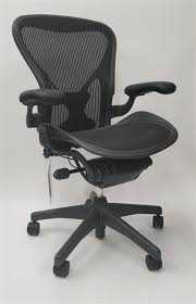 miller office chair. Herman Miller Aeron Chair Size B (or C) Basic Model With Posturefit Office