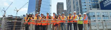 architectural engineering. Plain Engineering Students Visiting Construction Site Throughout Architectural Engineering