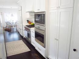 Matching Kitchen Appliances Cococozy Exclusive A Chic Galley Kitchen Interior Homes