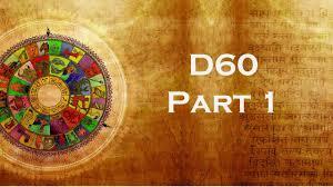 D60 Chart Analysis D60 Divisional Chart 1 Of 3 California Vyasa Sjc Class