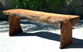 outdoor log bench benches info outdoor rustic for bench outdoor log benches for
