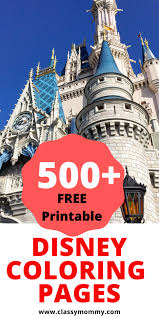 All people knows this entertainment, they there are lots of adventures, an interesting soundtrack and others things. 500 Free Printable Disney Coloring Pages Classy Mommy
