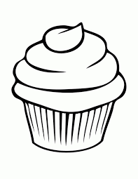 Small Picture Cupcake Coloring Page NetArt
