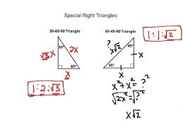 Special Right Triangles 45 45 90 Worksheet - wiildcreative
