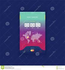UI Moderno Cellulare App Per I Soldi Online Di Trasferimento Con Il Conto  Alla Rovescia Del Temporizzatore Applicazione Di UX Ed Illustrazione di  Stock - Illustrazione di icona, paga: 103445786