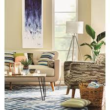 Navy Rug Living Room Varick Gallery Lamoure Nova Navy Blue White Area Rug Reviews