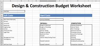 Budget Lists Examples 8 Best Free Construction Estimate Templates