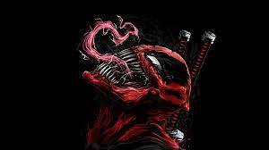 venom #deadpool #hd #4k digital art ...