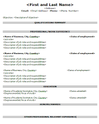 targeted resume sample targeted resume template all best cv resume ideas