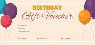Gift Certificate Printable Free Free Birthday Gift Certificate Templates Certificate