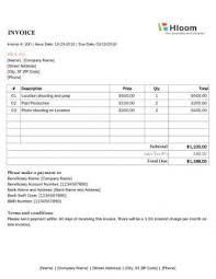 Invoice Template For Photographers Invoice Template For Photographers Magdalene Project Org