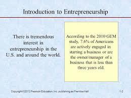 Introduction To Entrepreneurship Introduction To Entrepreneurship Ppt Download