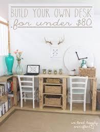 office ideas pinterest. Diy Office Decor Pinterest Double Desk Ideas White On Motivational