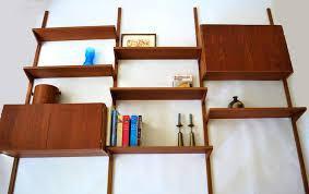 mid century modern floating shelves. MidCentury Danish Teak Floating Wall System PS Cado SOLD Throughout Mid Century Modern Shelves